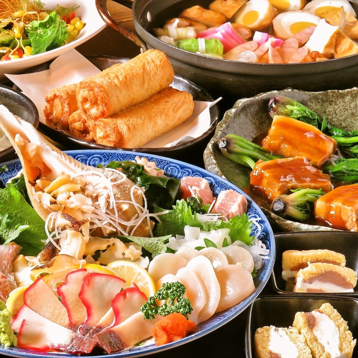 Variety of courses ☆ ☆