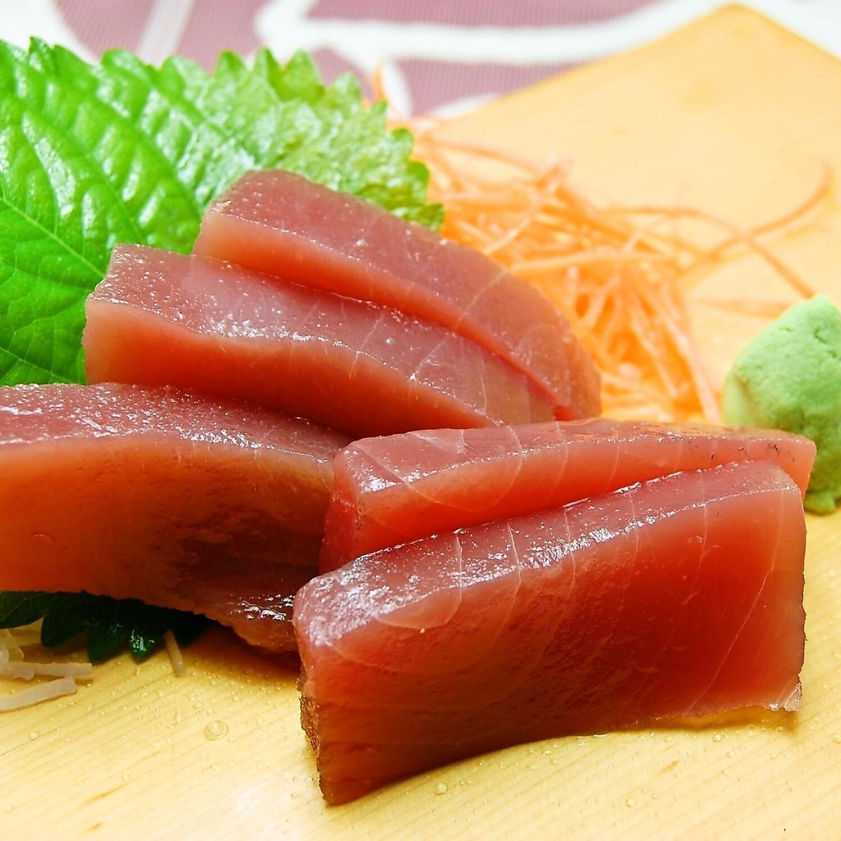 Tsubu貝類刺/松鼠生魚片/精湛的頂級鮭魚