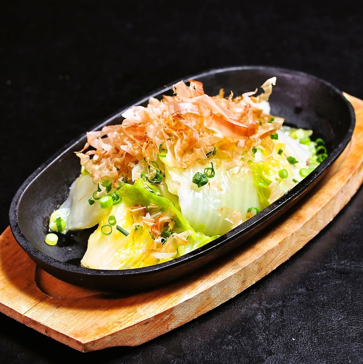 Steamed domestic pig and Chinese cabbage ~ at Yu-Pong ~