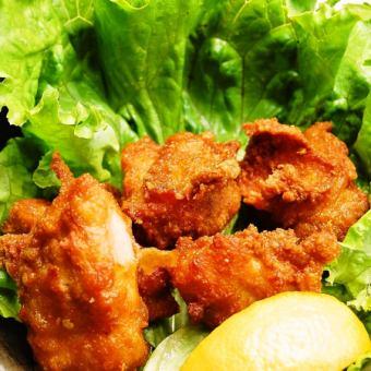 定番!鶏のからあげ (プレーン・柚子胡椒マヨ・おろしゆずポン・南蛮仕立て)