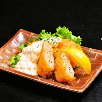 笹かまぼこの天ぷら/プリプリ海老カツ~自家製タルタルで~ 3個