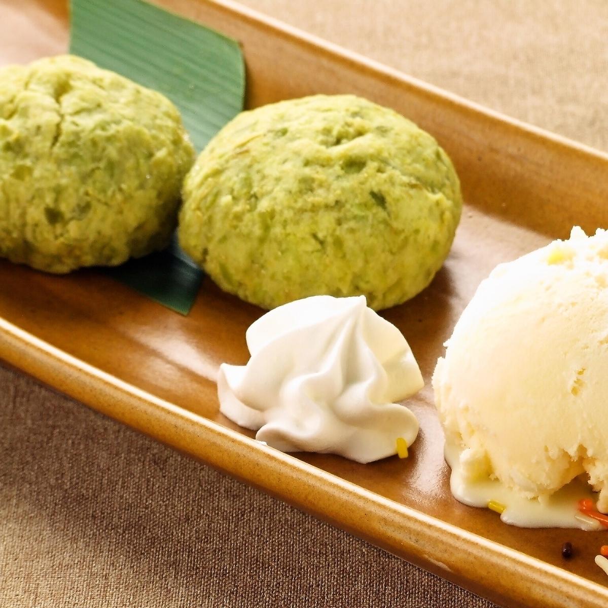 軟糖巧克力與香草冰淇淋