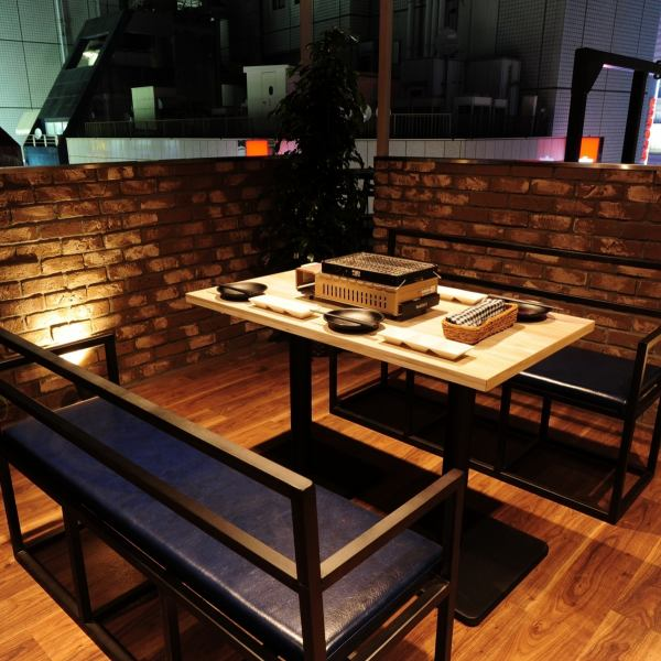 Popular sofa terrace seats ☆ You can also use it for dates and girls' sociations.Please contact us as soon as possible !!