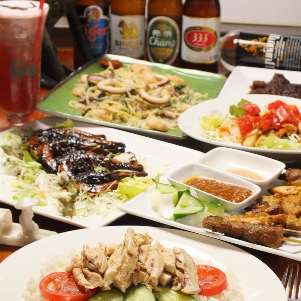 1-minute walk from Jimbocho Station ◎ shops popular Singapore dishes enjoyed by Jinbocho ♪