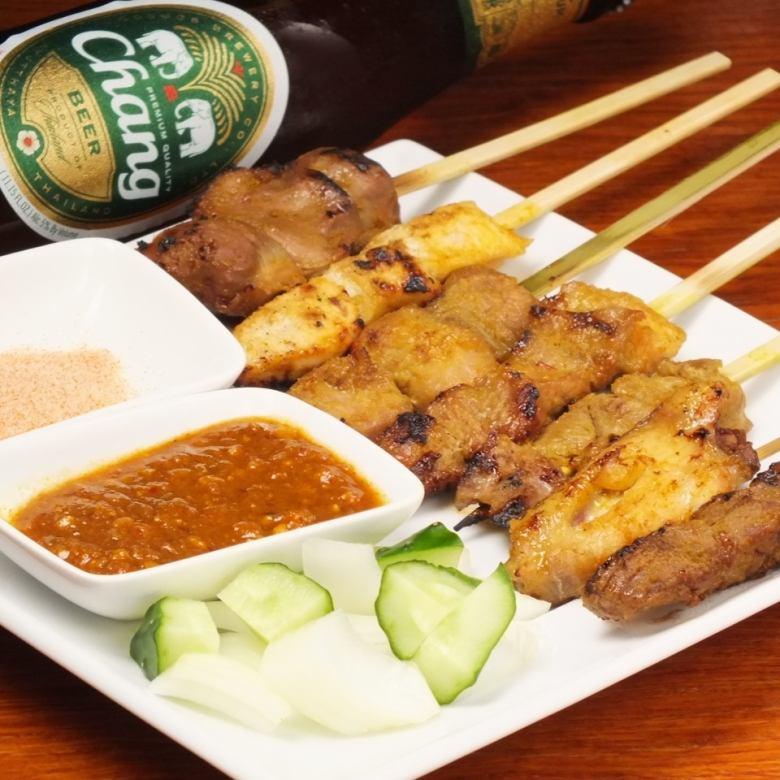 Satay platter (seven Random)