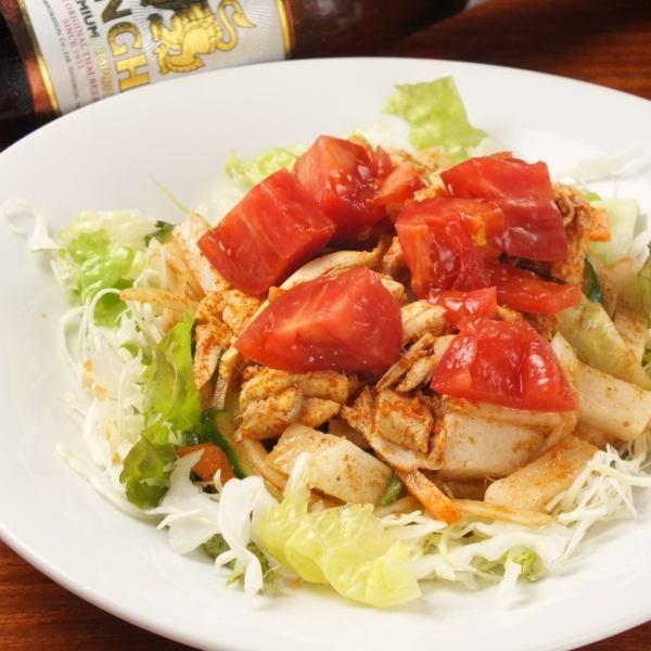 Chicken Little India salad