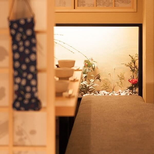 Fluffy in Fukuoka is fully enjoyed in a fully-private room ♪ local sake is available!