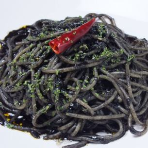 Secretly? Popular ♪ [Spaghetti with squid ink]