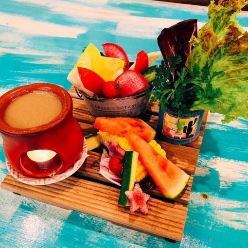 【女子会限定】150分飲み放題付き料理7品 SoleSole女子会コース 4000円