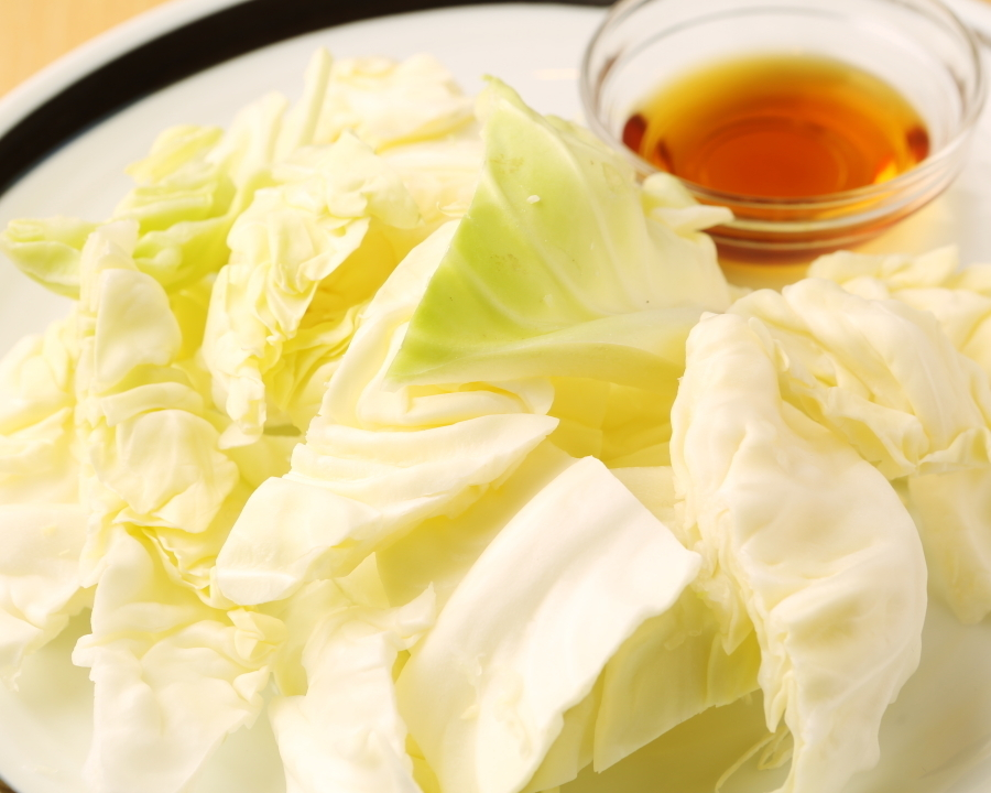 Cutting of cabbage