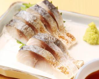 厳選炙りトロ〆鯖刺