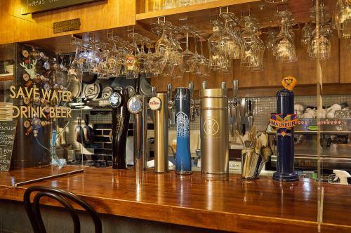 ベルギー・ドラフト(樽生)ビール