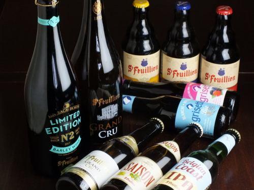 豊富なビールの種類★酒屋としても営業中!