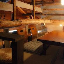 可容纳4至6人◎可提供半室阁楼座位。