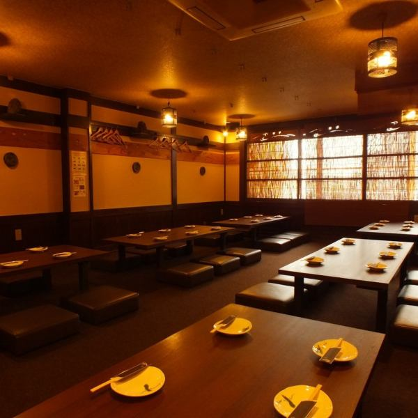 It is possible to party for up to 45 people with a nice Japanese atmosphere.We will hold various banquets such as company banquet for various banquets ♪