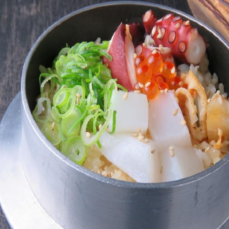 Seafood pork cutlet