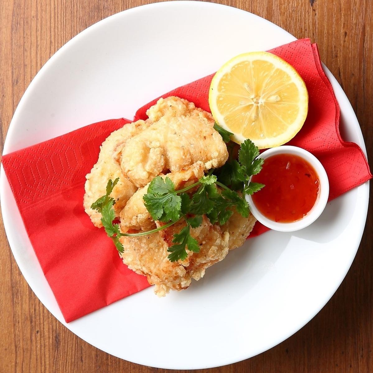 炸雞〜用甜辣椒醬〜