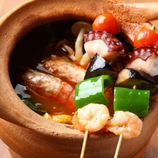 Tom Yam Koon - the world's three great soup spicy shrimps spicy soup ~