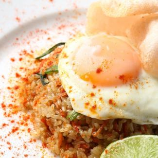 Indonesian style fried rice ~ Nasi goreng ~