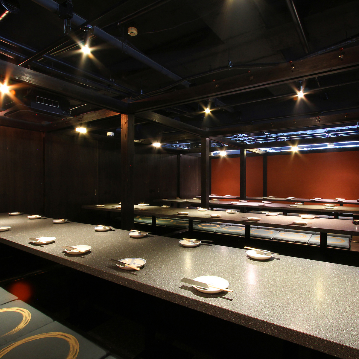 30 to 50 people private room 【Maximum of 85 guest rooms】