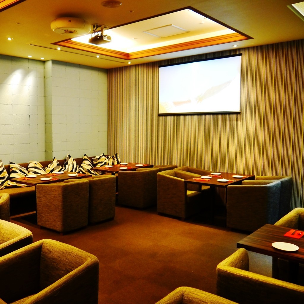 Private room for 20 to 40 people.Projector, microphone, sound, lighting are also equipped.