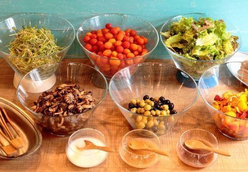 旬のフルーツやお野菜を美味しくご提供☆