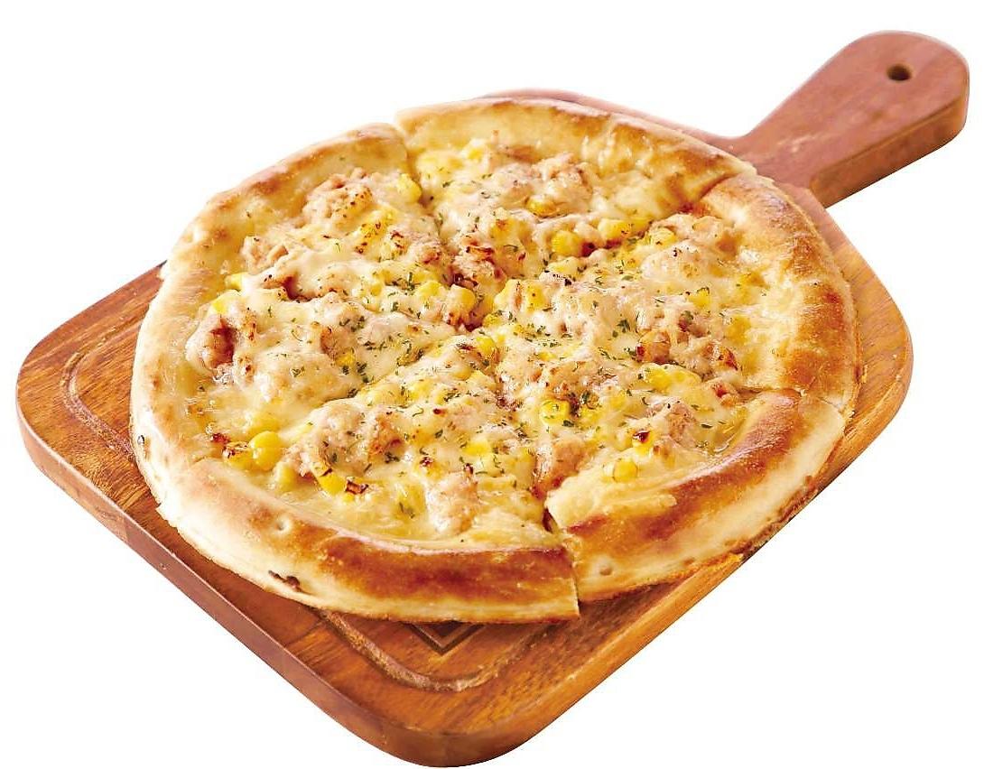 ツナマヨコーンピザ