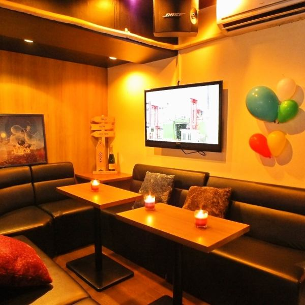 [Private] completely private room equipped ☆ Women's Association of from 2 to 20 people, blind date, easy to store for use in the birthday party is repeat rate high !!