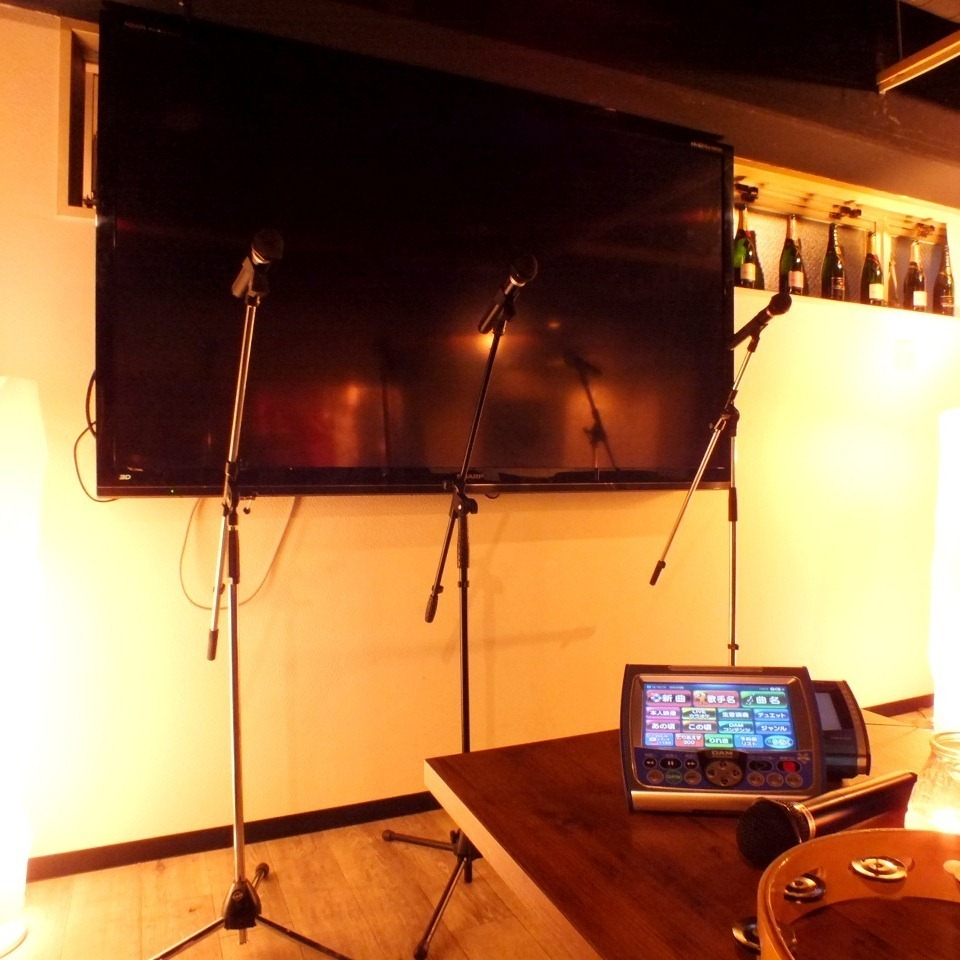 Chart for 10 to 150 people ☆ Equipments such as microphone, karaoke, projector are all free to use!