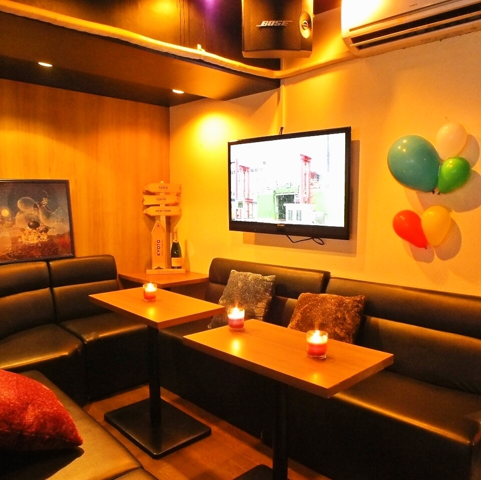 Complete private room ⇒ 2 ~ 20 private rooms ☆