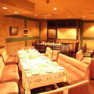 【3階席】結婚式2次会などにもご利用できるお部屋
