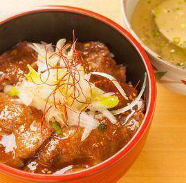 特製 タン吉丼(スープ付)