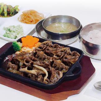 铁板牛烤肉