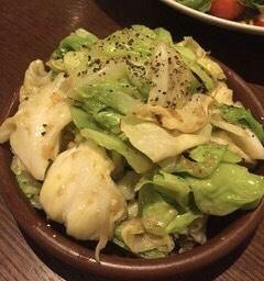 アンチョビキャベツ【タパス】