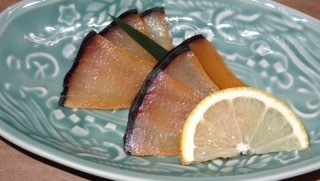 Pickled whale miso