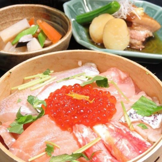 "Lunch ♪ ""Echigo luxury Wagakuza"" or ""Niigata local cliche salad"" each 2300 yen (excluding tax)"