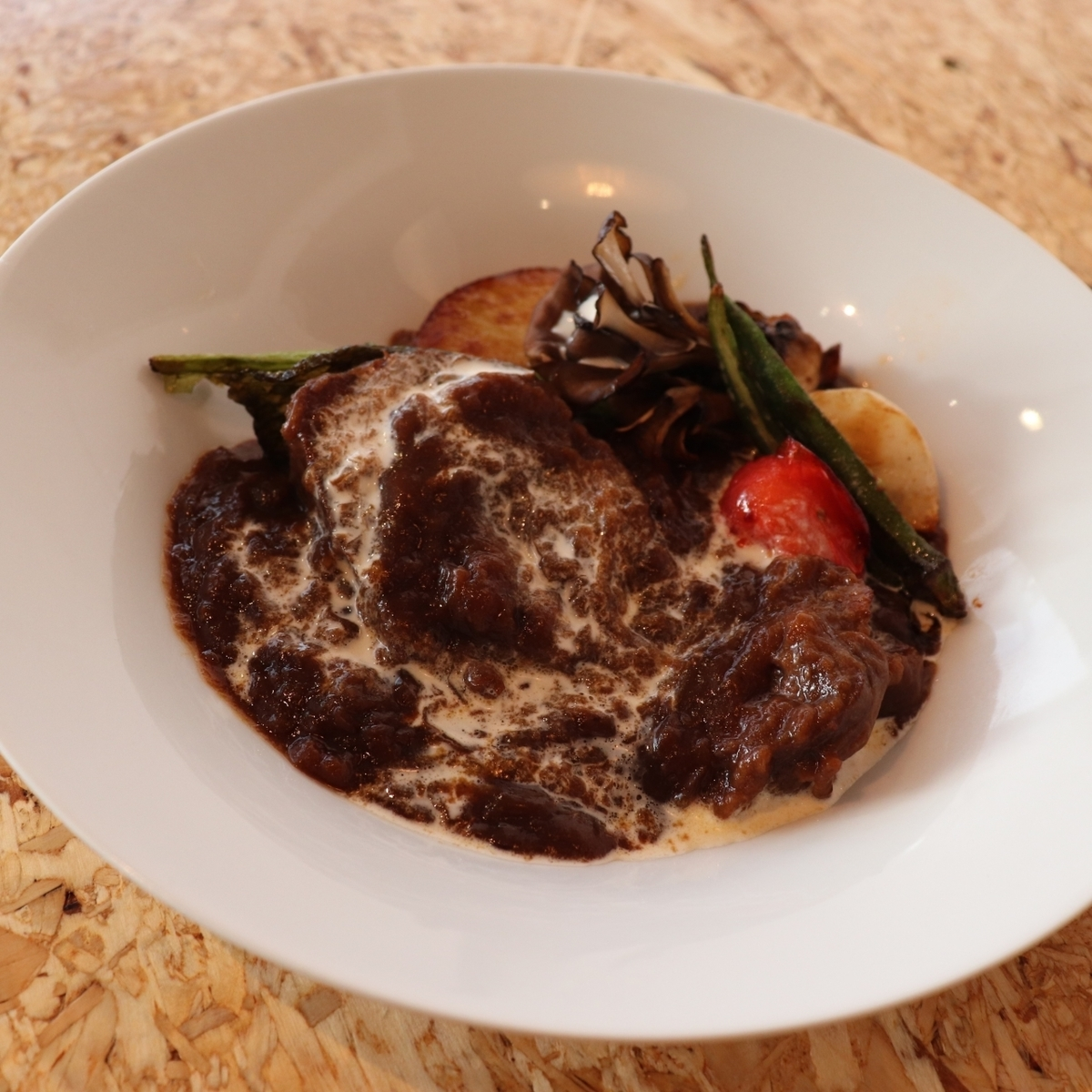 Rich beef tongue stew
