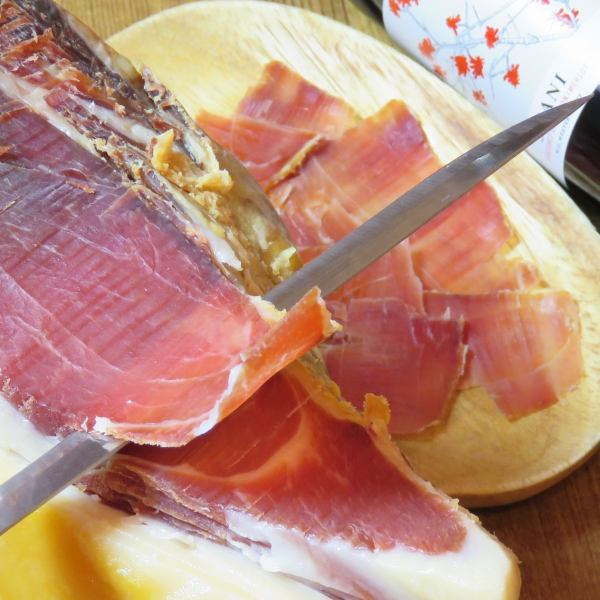 "Recommend this shop !! Raw ham made in Spain ""Hamon Serrano"" Trial Size Present with Weekday Night Limited Coupon !!"