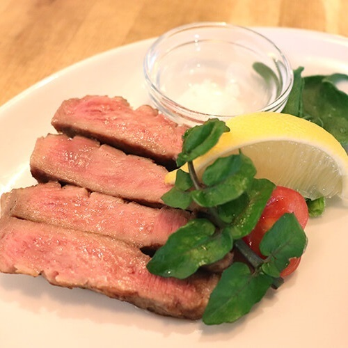 Beef tongue steak with thick cuts!