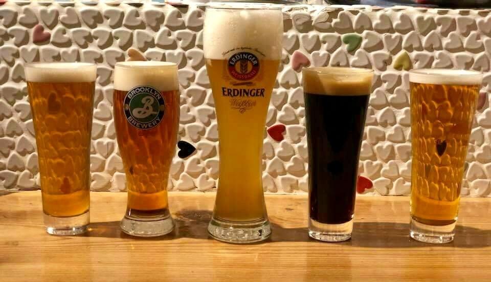 喝精釀啤酒!