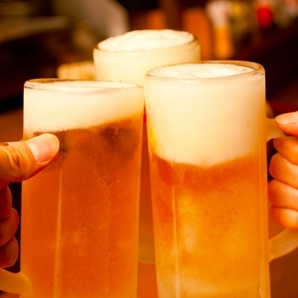All-you-can-drink course with 2 hours!