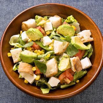 Avocado and cream cheese salad