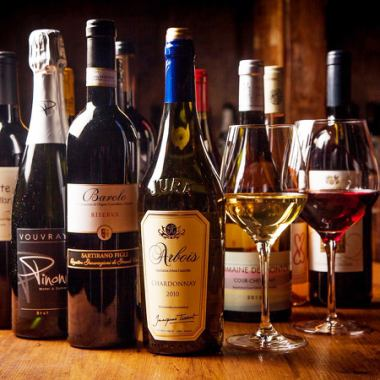 【Members have privilege ♪】 Affordable membership system ★ enjoy wine with purchase price ★