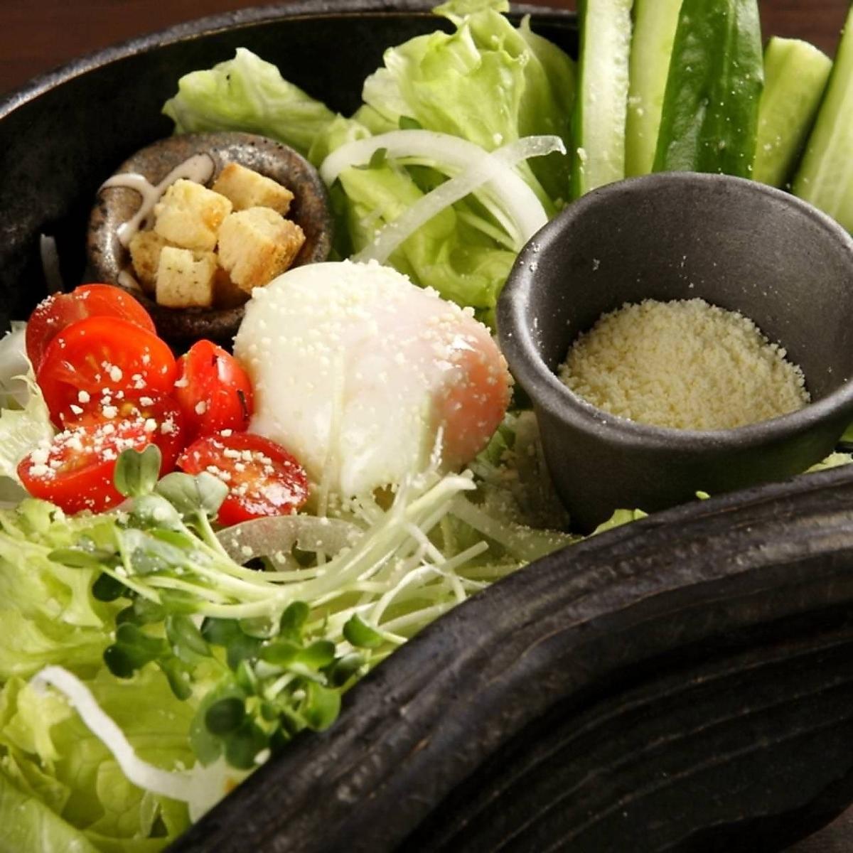 시저 샐러드 / 자코의 바삭 바삭한 샐러드