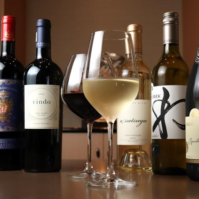 寿司×ワインの贅沢