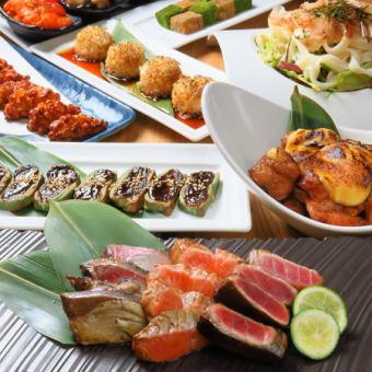 GoToEAT対象◆贅沢に!◆個室宴会!魚柳プレミアムコース<120分飲み放題付>6000円(L.O.90分)