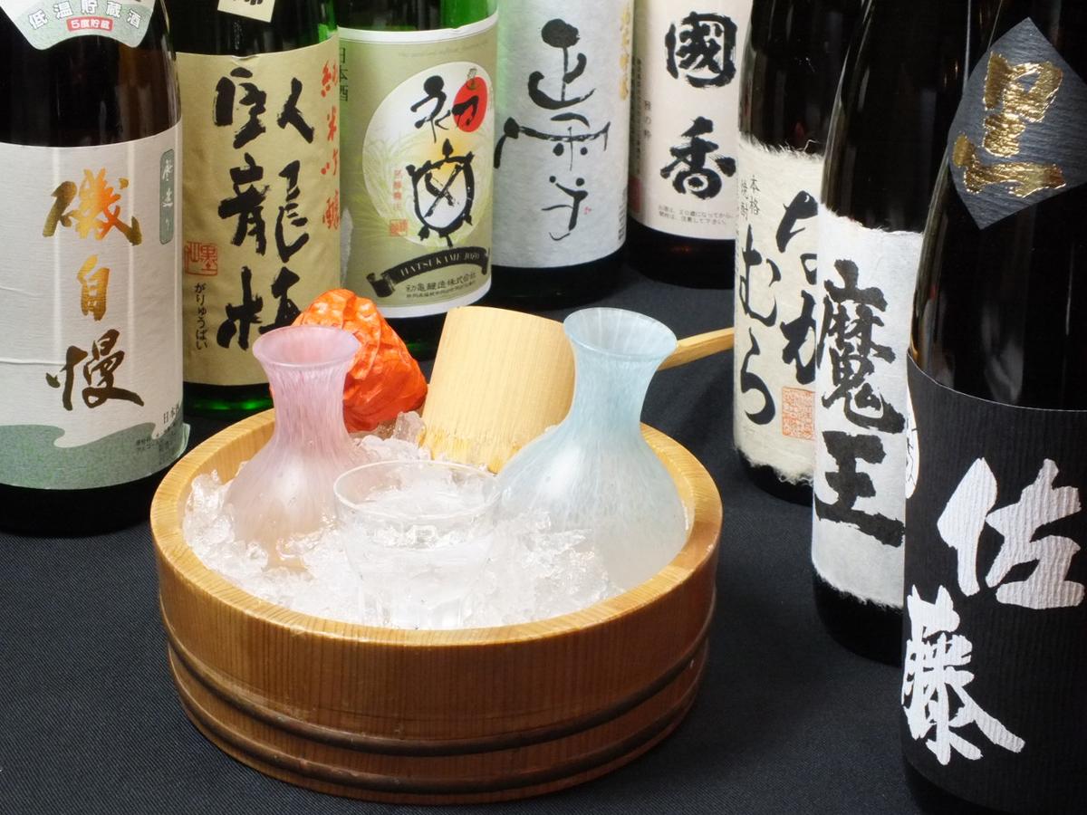 静岡の地酒多数ご用意
