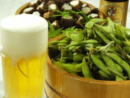 静岡産、枝豆、石川小芋