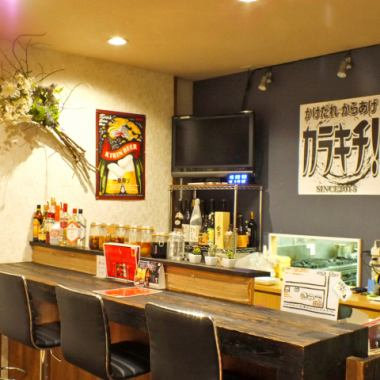 To use scene various ♪ after work, meal Tsukai at the counter table parlor seat equipped ◎
