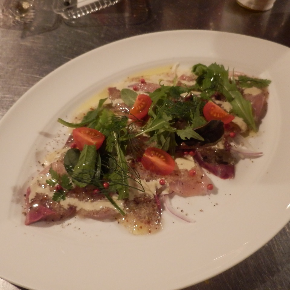 Setouchi fresh fish carpaccio